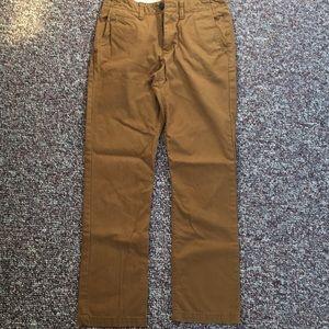 American Eagle Dark Khaki Pants - Size 30x34